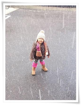 雪あそびカブ子♪