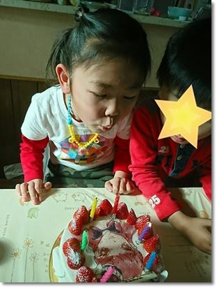カブ子の6歳の誕生会♪