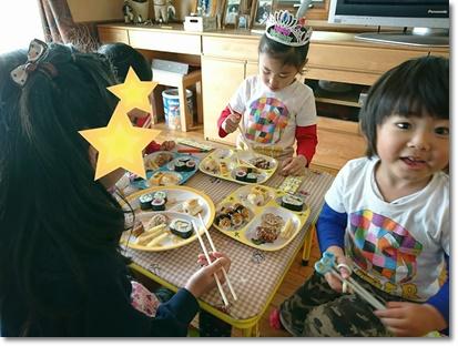 子どもたちのテーブル(^^)
