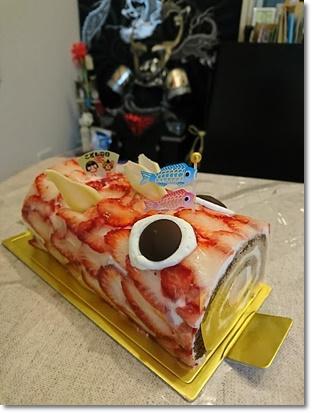 鯉のぼりケーキ♪