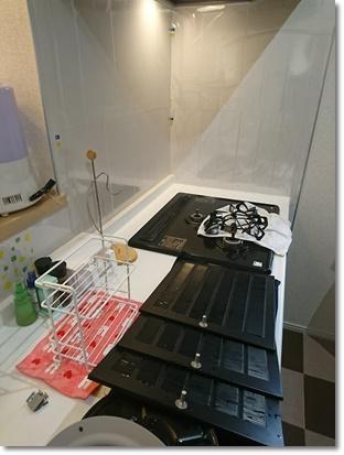 キッチンの大掃除;;;