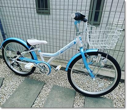 カブ子の新しい自転車♪