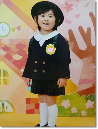 ユラの入学記念写真☆
