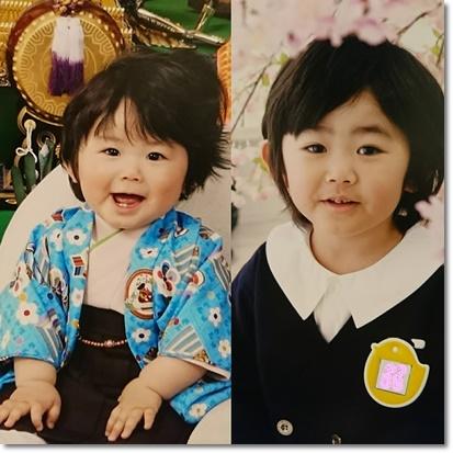 3年前のユラと今年のユラ☆
