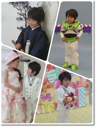 3歳の記念写真撮影☆