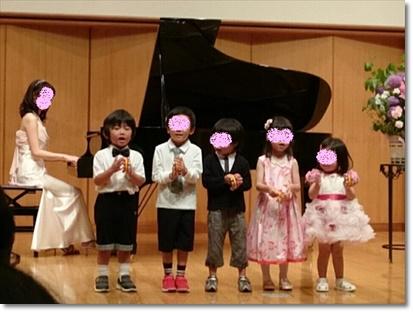 ピアノ発表会♪~幼児クラス リトミック~