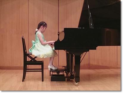 ピアノ発表会♪~ソロ~