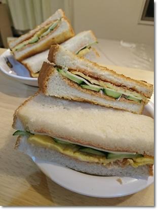 サンドイッチできましたー♪
