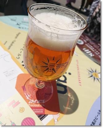 ベルギービールウィークエンド♪2杯目はジャックプレシャスIPA♪