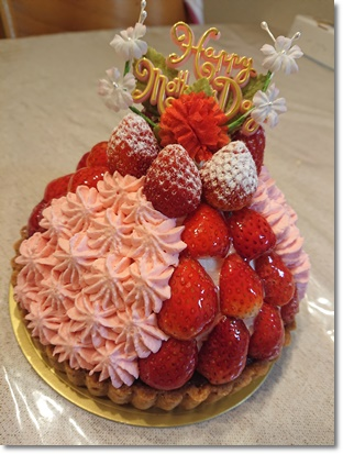 母の日のケーキ♪