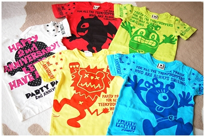 PARTY PARTY 2nd Anniversary Tシャツ♪